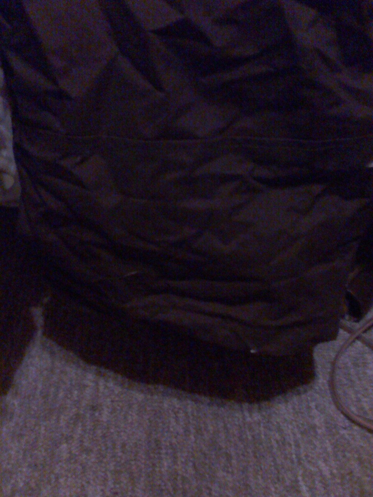 Back of pant cuff