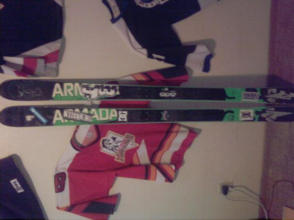 Ar5 skis again