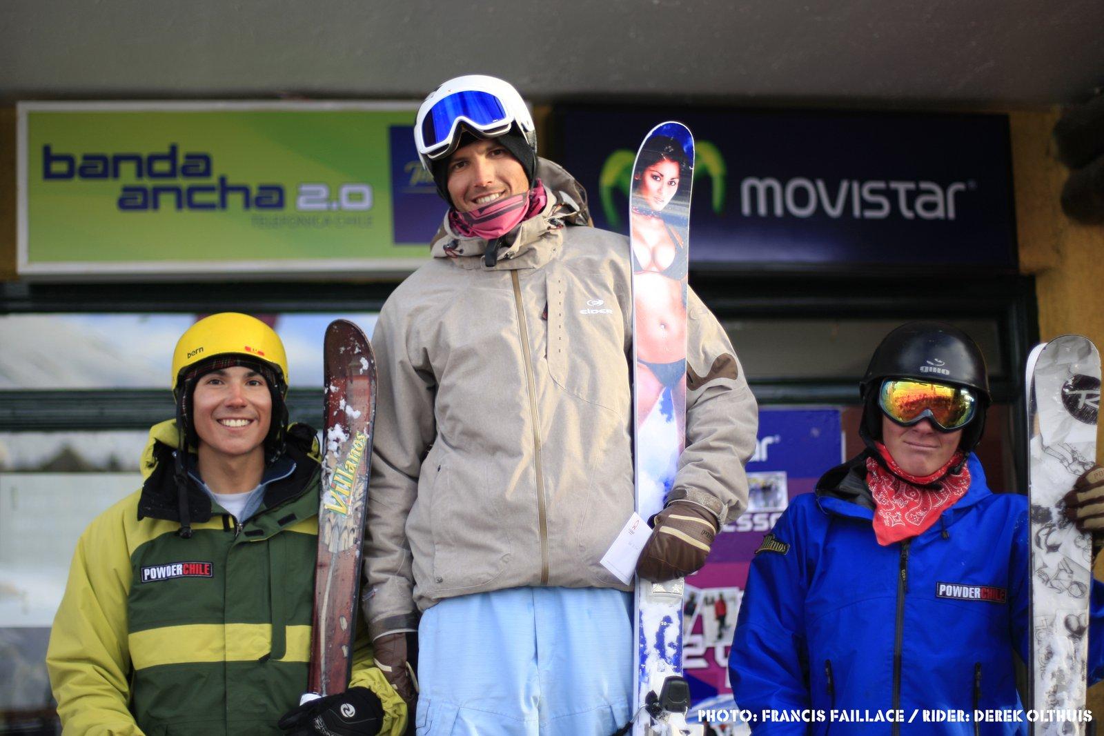 Derek Olthuis wins 2008 El Colorado Big Air Competition