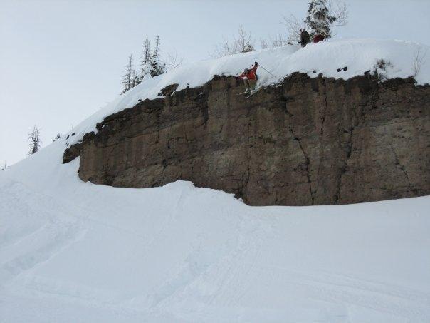 Cliff in Telluride