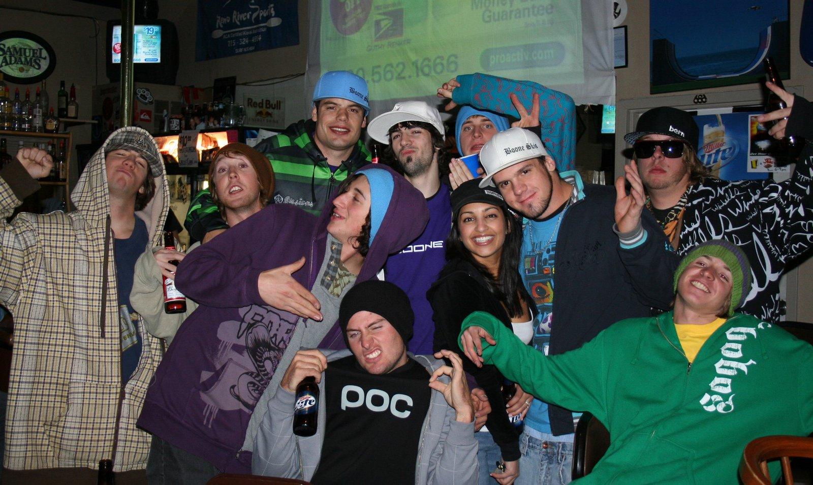 Reno - Ski Gasm - post party