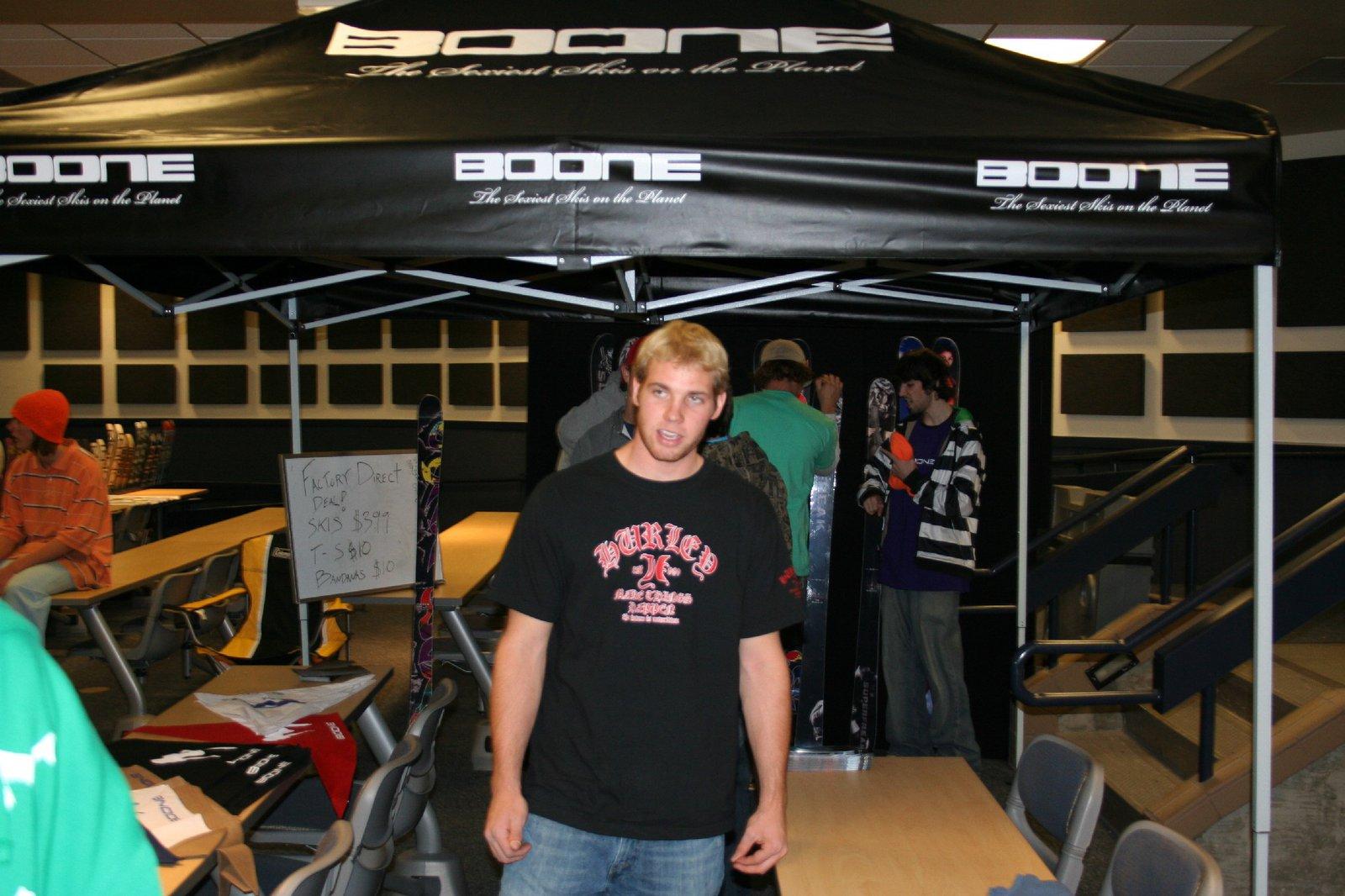BOONE Tent at Skigasm