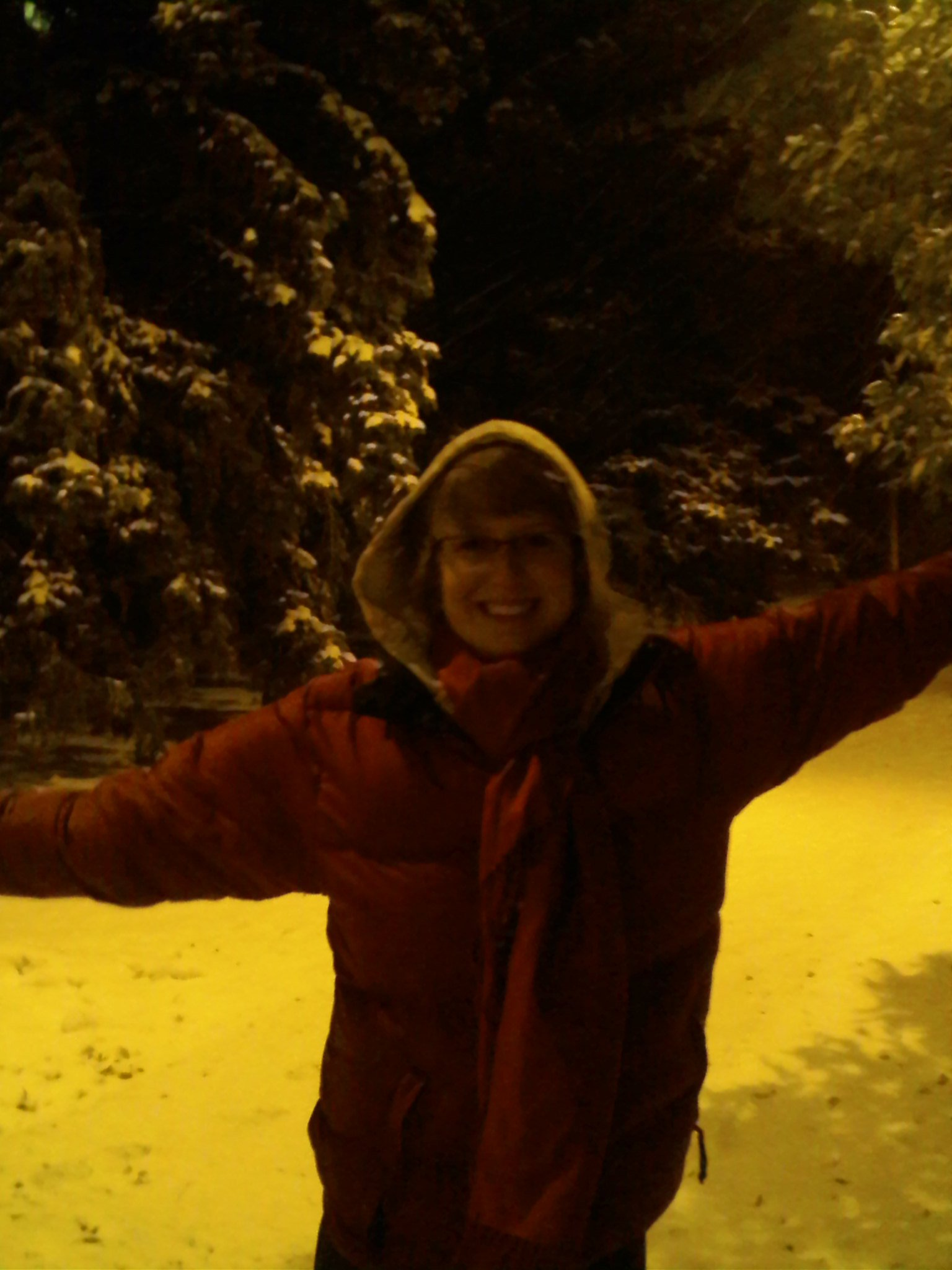 FIRST SNOW IN BOZO!