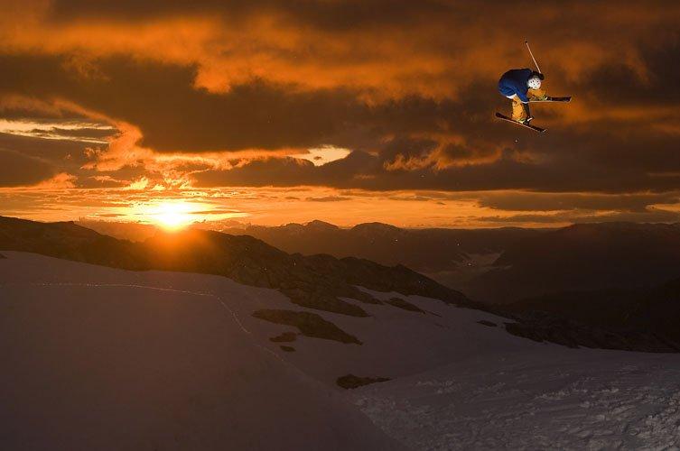 Sunsetshoot in Norway