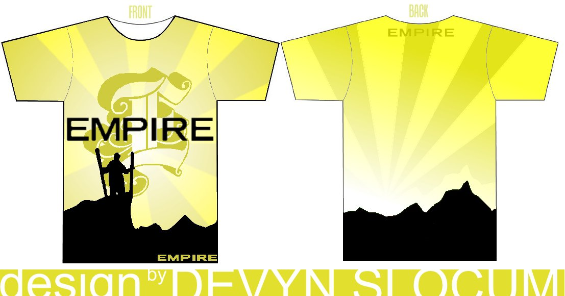 Empire tshirt design