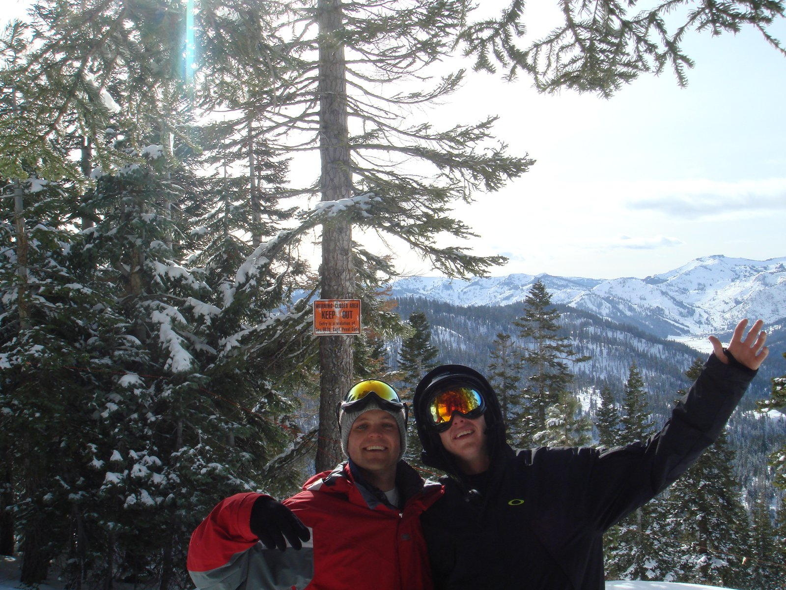 Blair and Mike Backside of Northstar