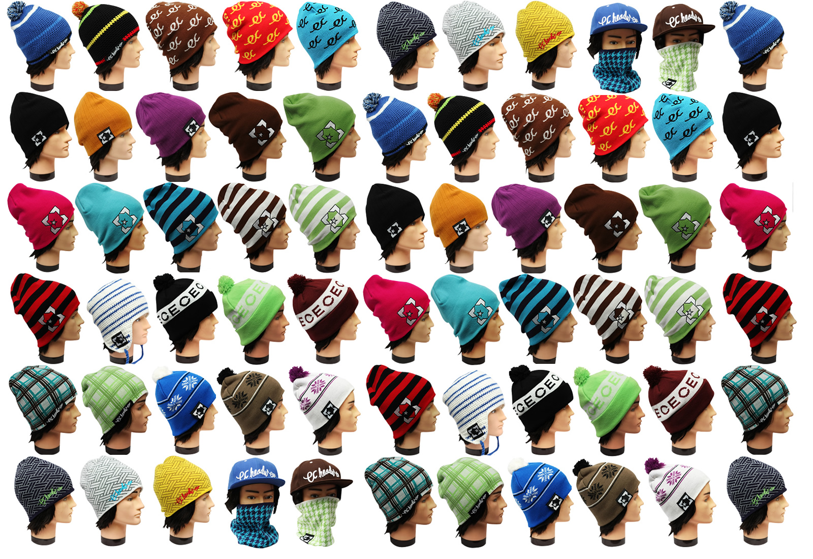 EC Headwear Beanie Background