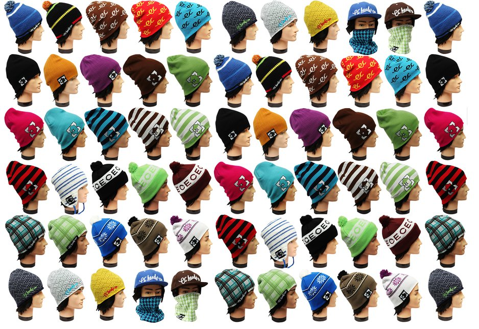 EC Headwear Beanie Background
