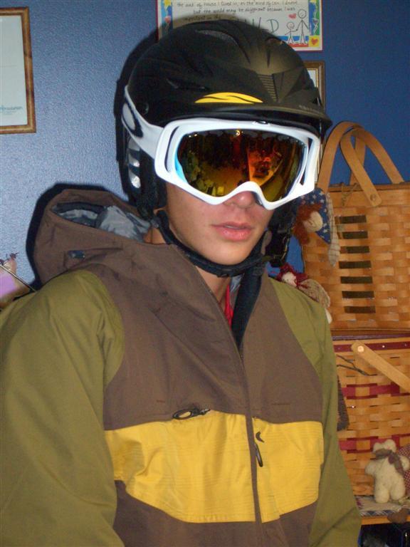Me ready to ski