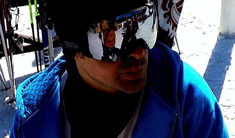 Shinny goggles