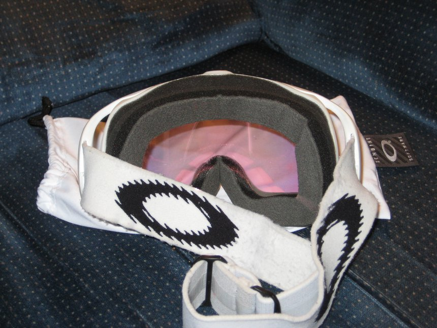 Matte White/ Pink Iridium Back
