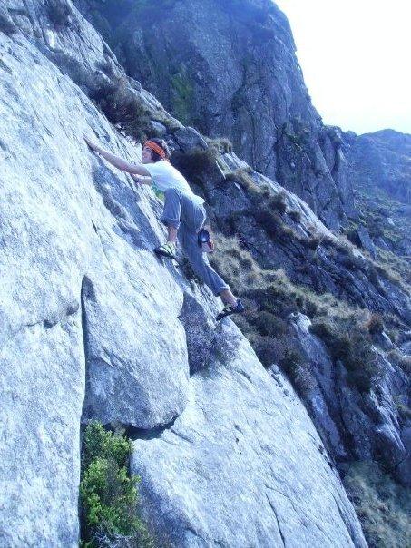Warm up climb