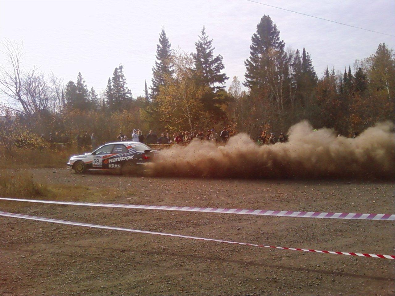 LSPR RALLY big corner drift
