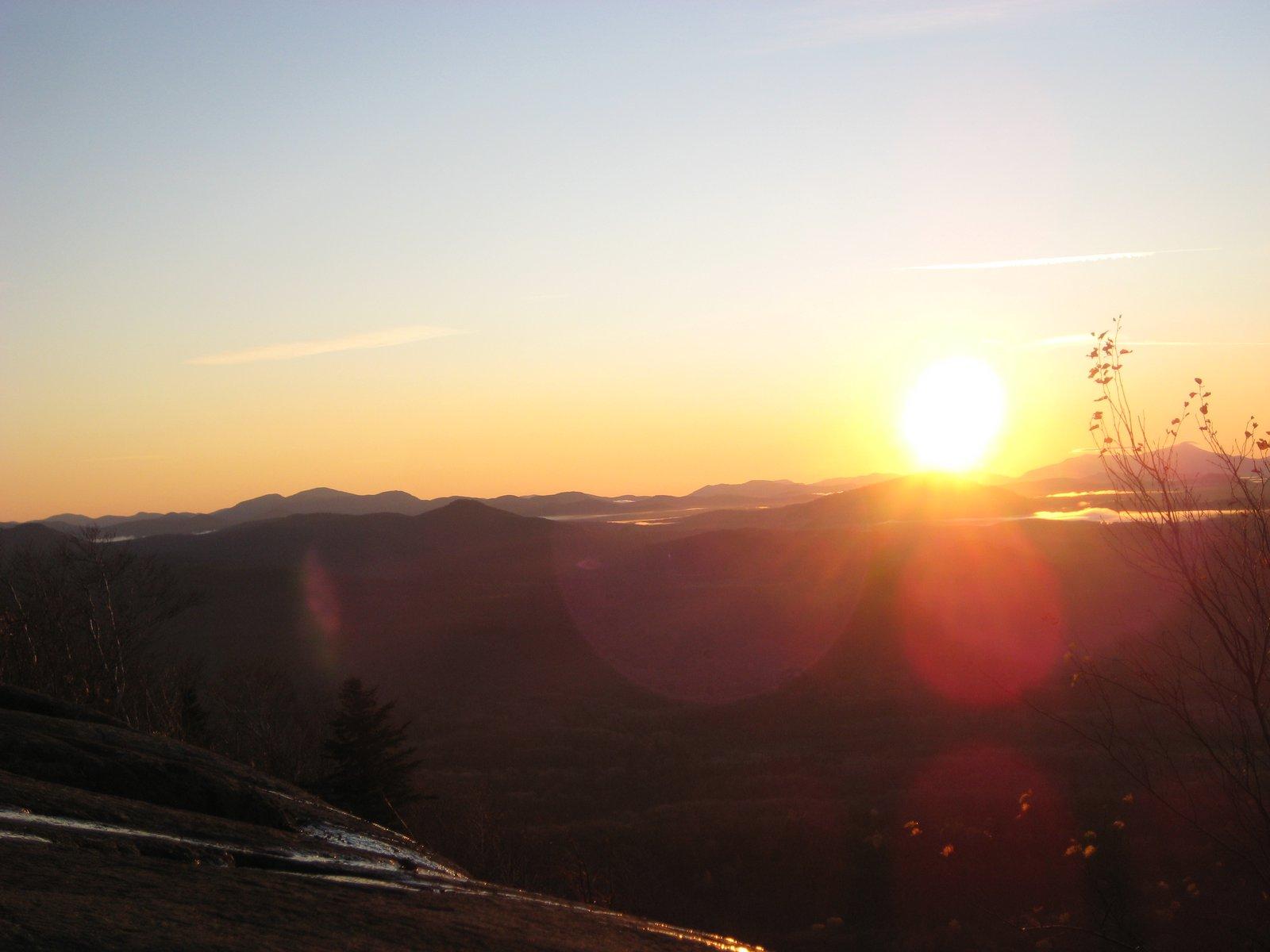 Azure sunrise
