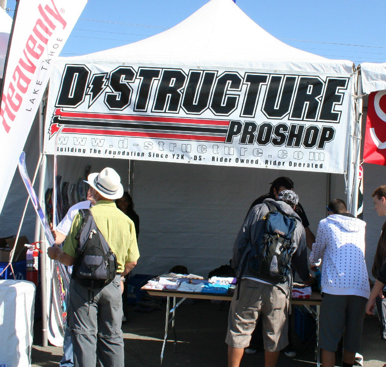 The D-structure tent