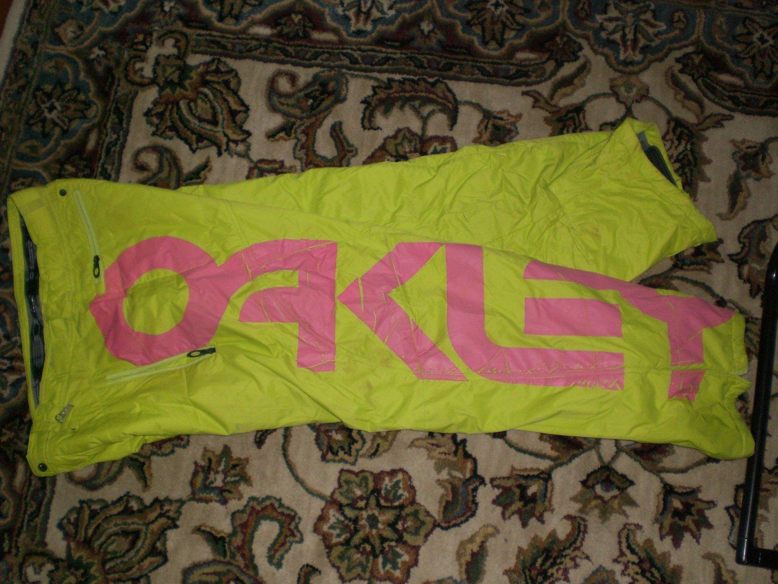 Oakley pants 2