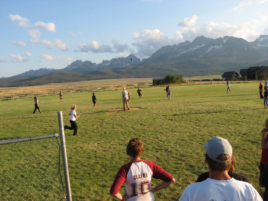 Kickball at the Park