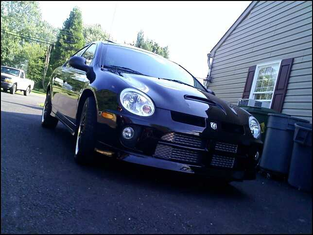 My car...