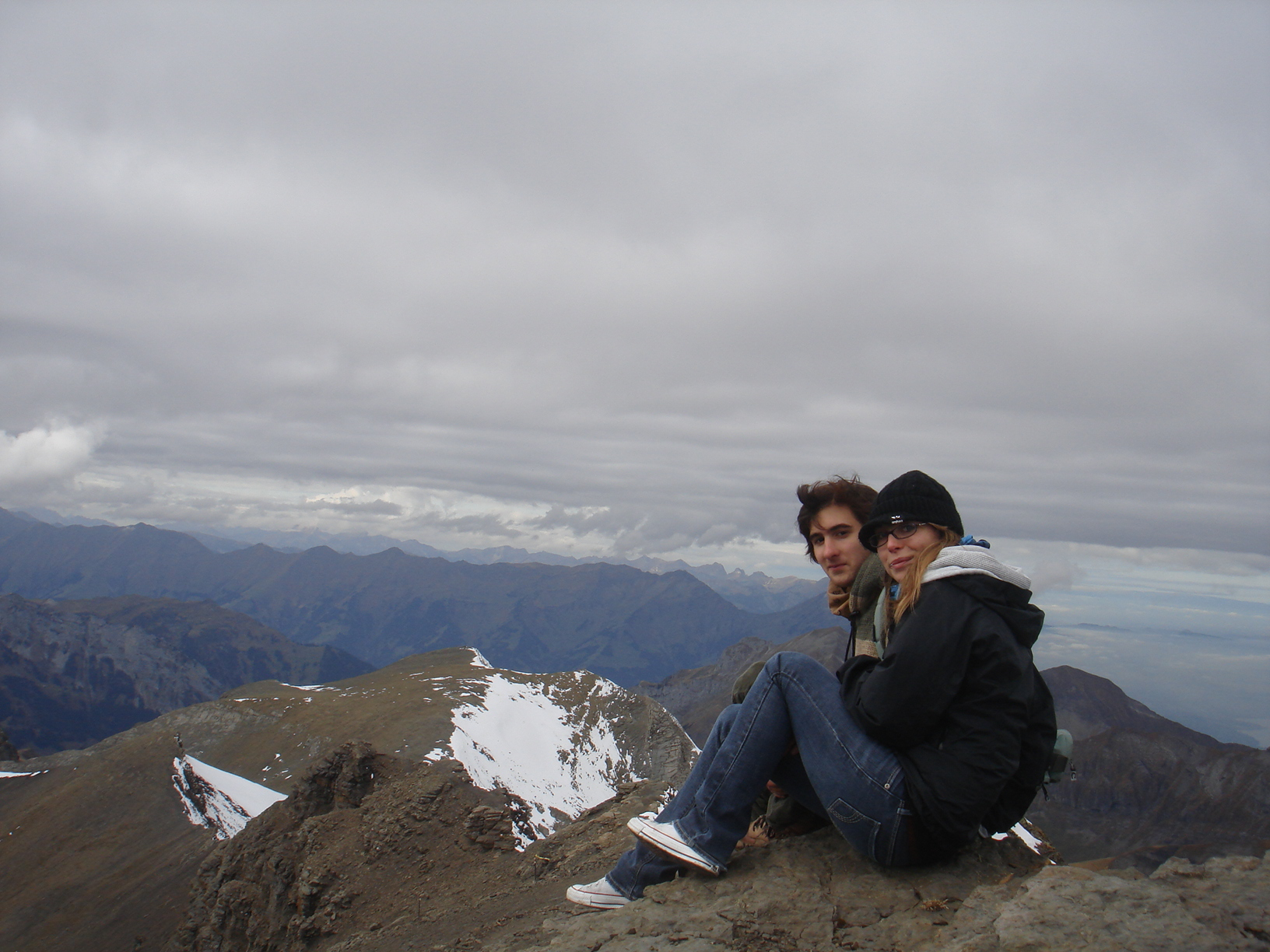 On top of Europe with the girl