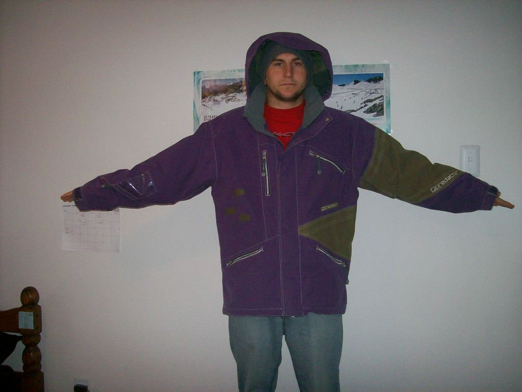 Predator wear jacket   im six feet tall