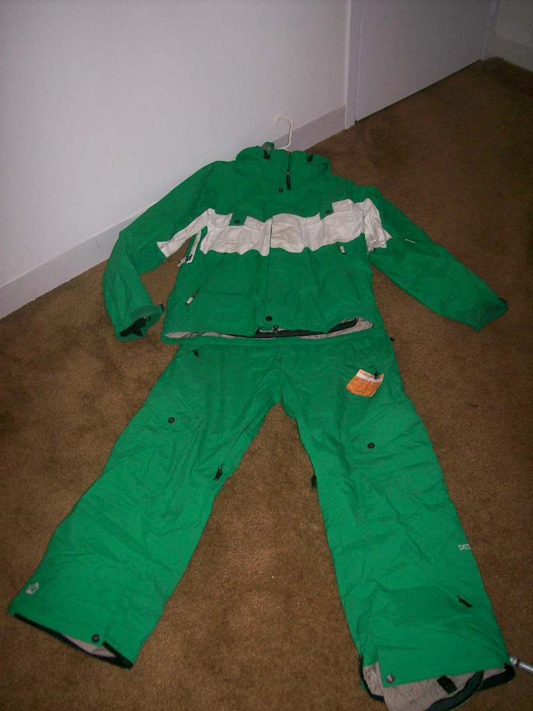 Sessions jacket and pant