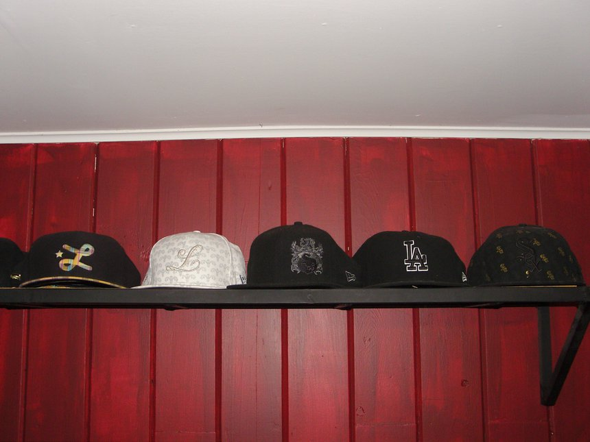 Hats for possible trade.