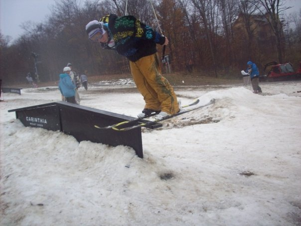 Getting nasal at mount snow