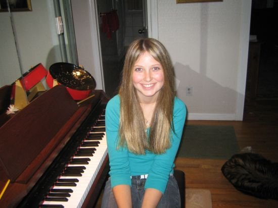 Me and my piano :P