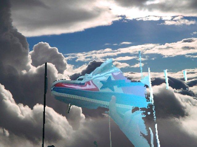 Flying bape?
