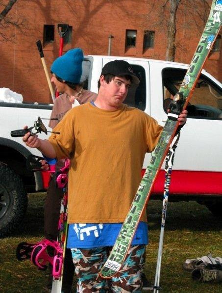 Broke my ski