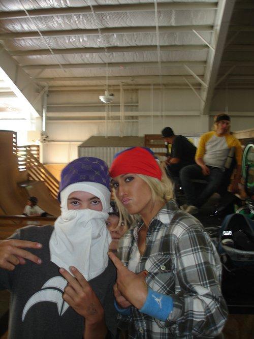Camp woody with codie my ninja homie