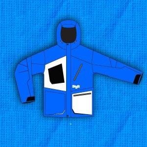 Saga jacket blue