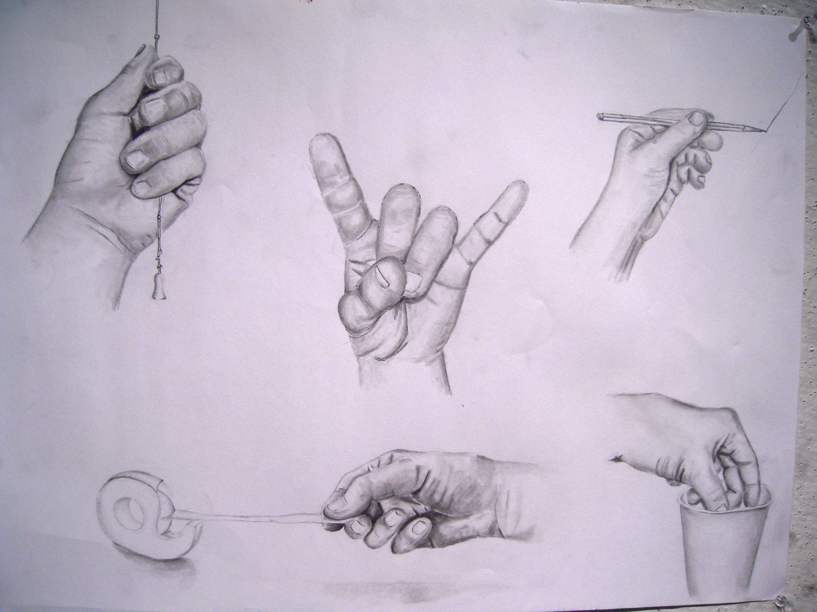 Hands Drawing HW