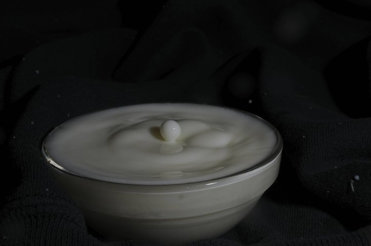 Cool milk ball