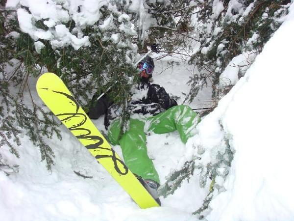 Jay Peak... Trees hurt...