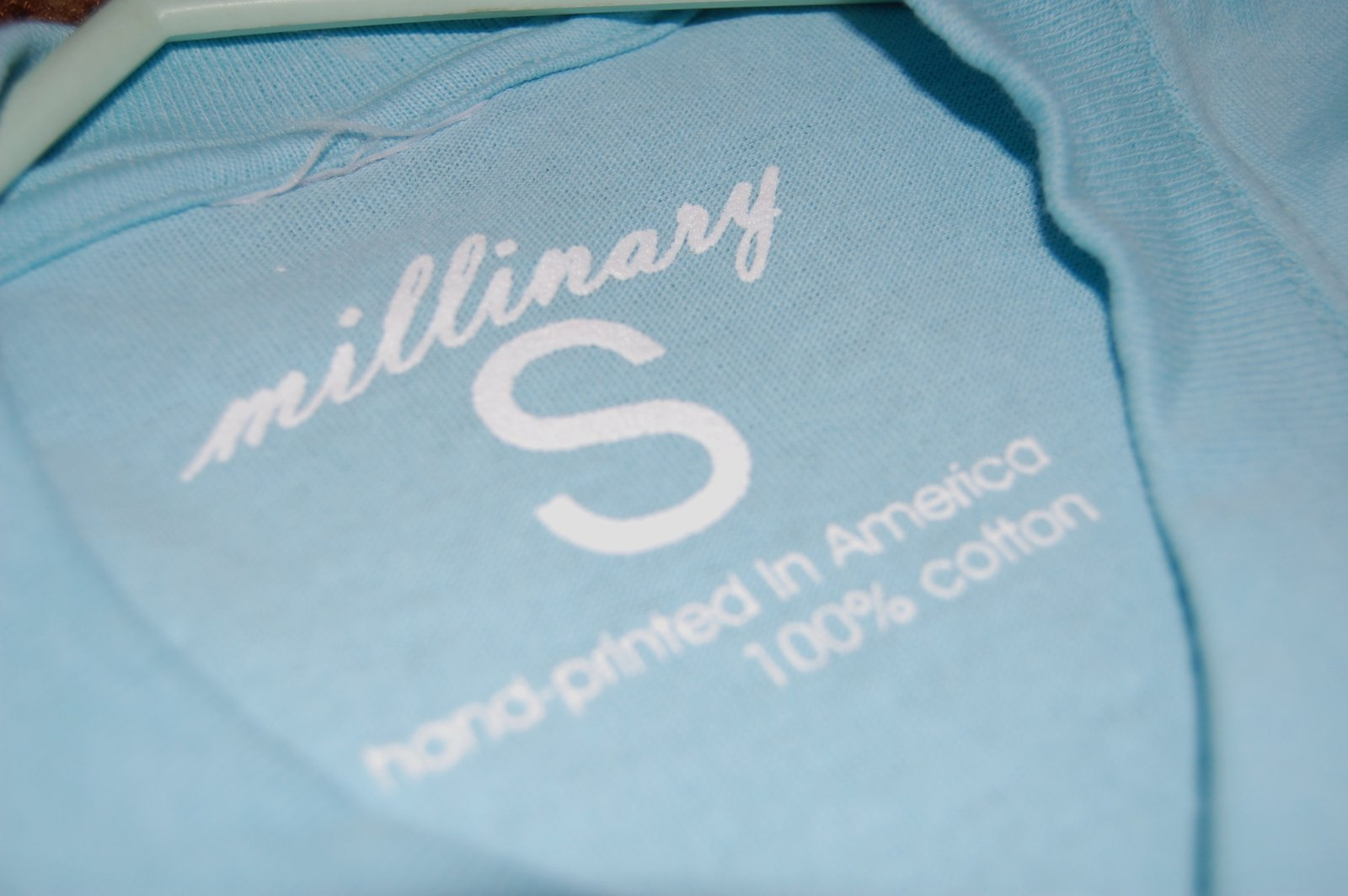 Another shirt tag