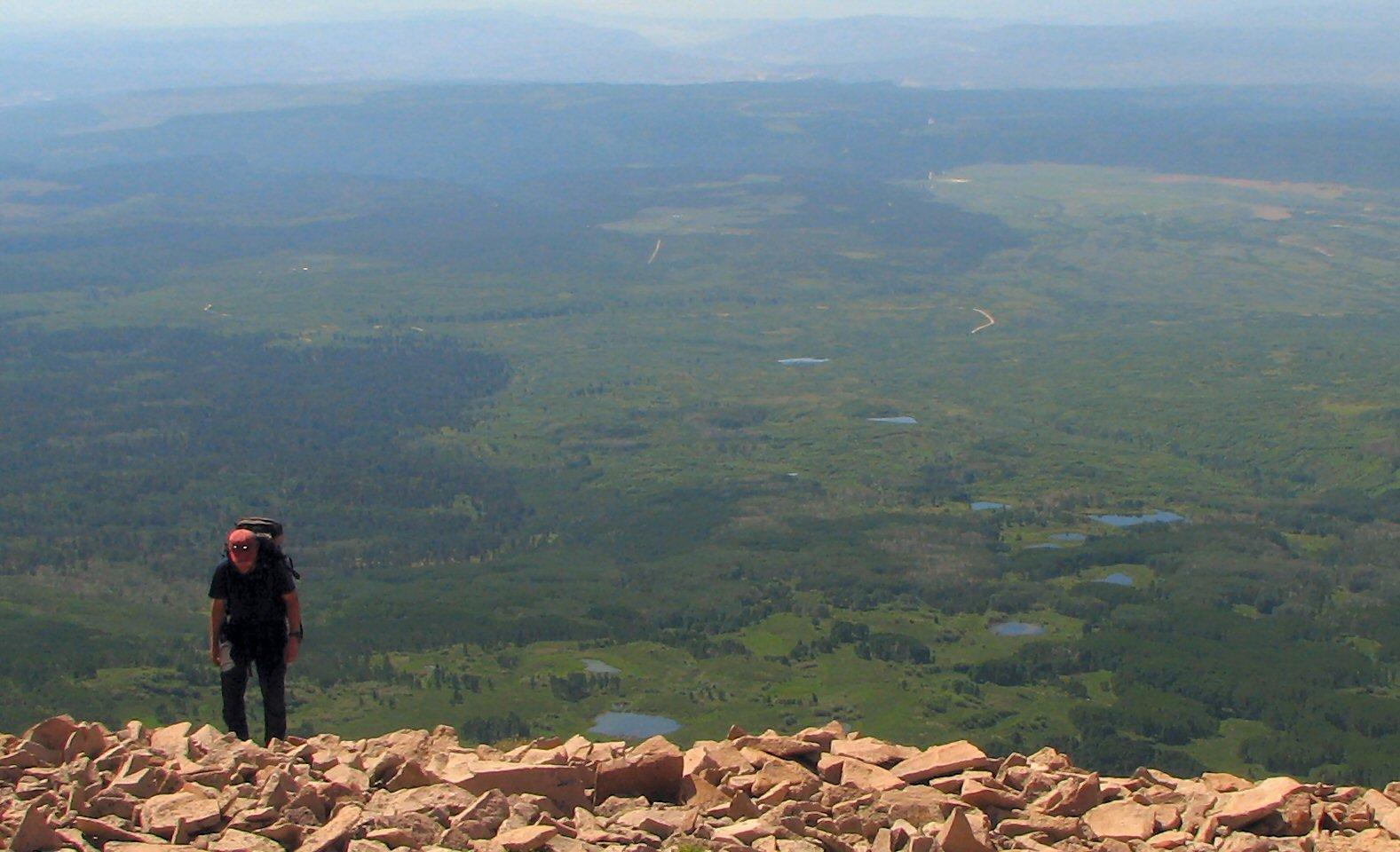 Hiking Mt. Peale