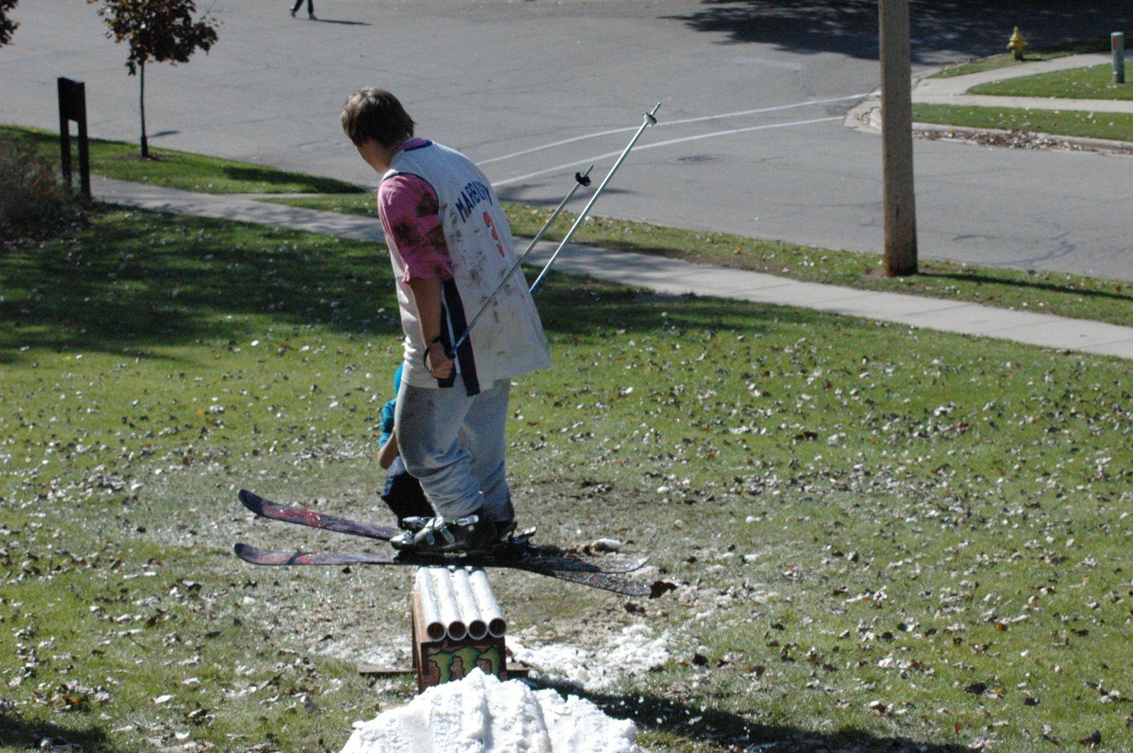 Summer shredding