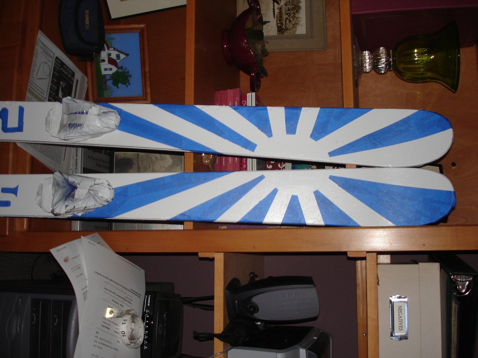 My skis.