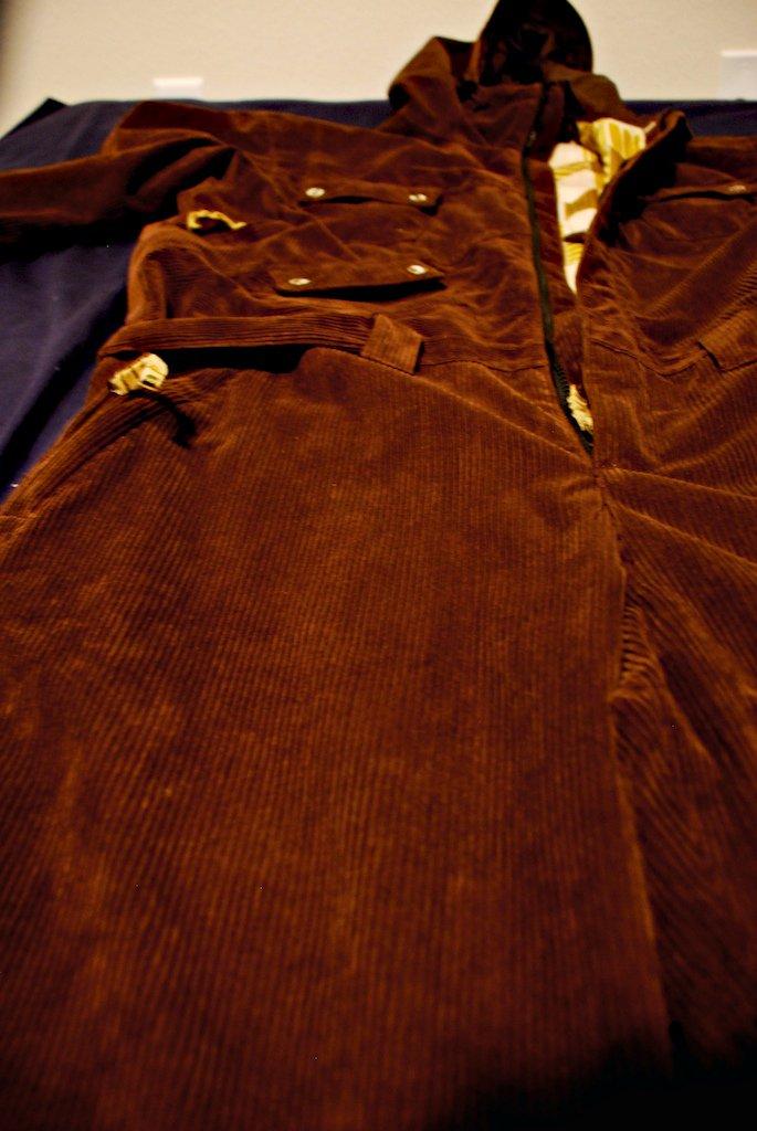 Bear suit fabric