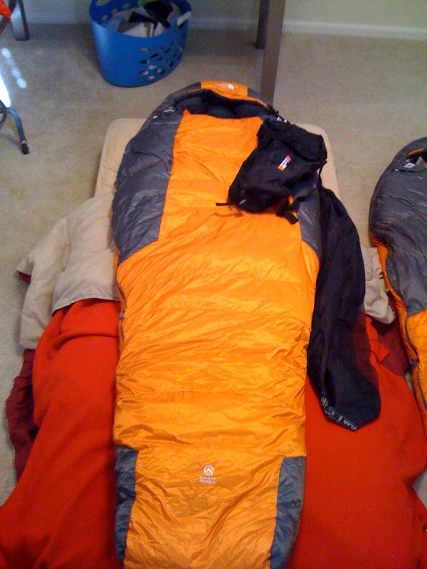 FS: North Face Solar Flare Sleeping Bag