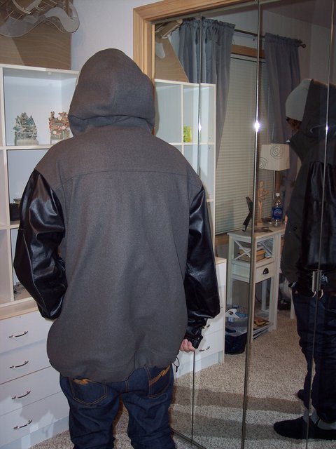 Jacket from back