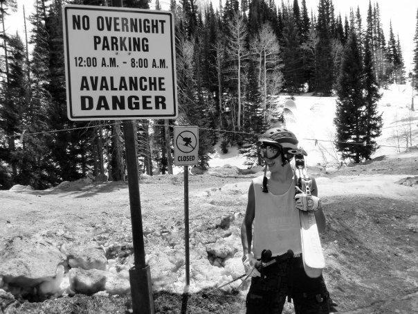 Avalanche danger!