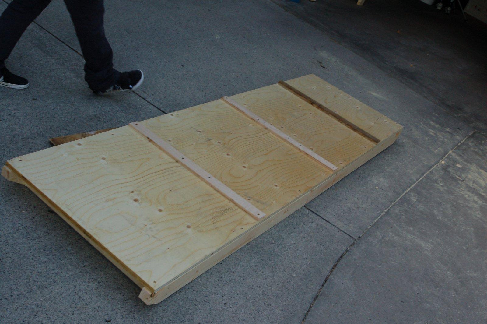 Down ramp