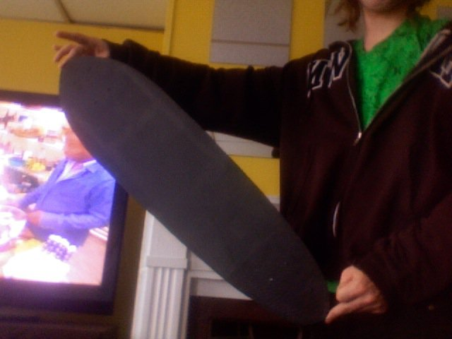 Homemade skateboard