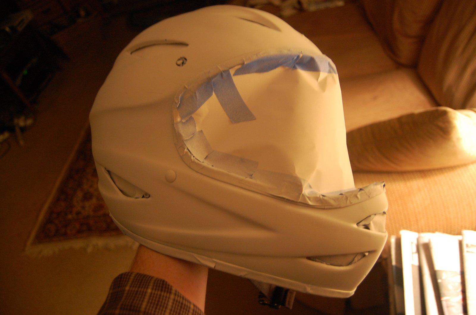 Step one primer(mounatin bike helmet)