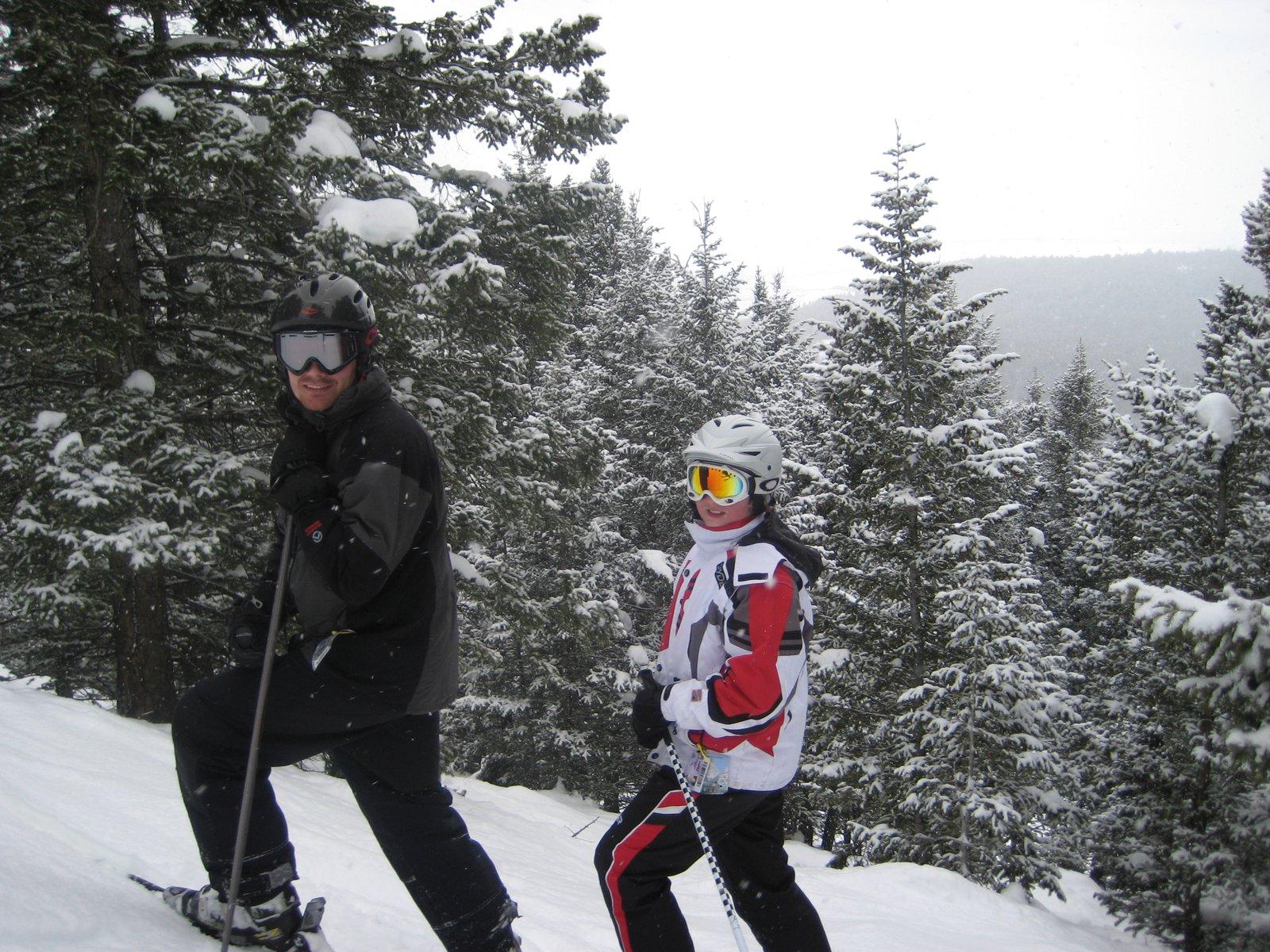 Skiing at Targhee
