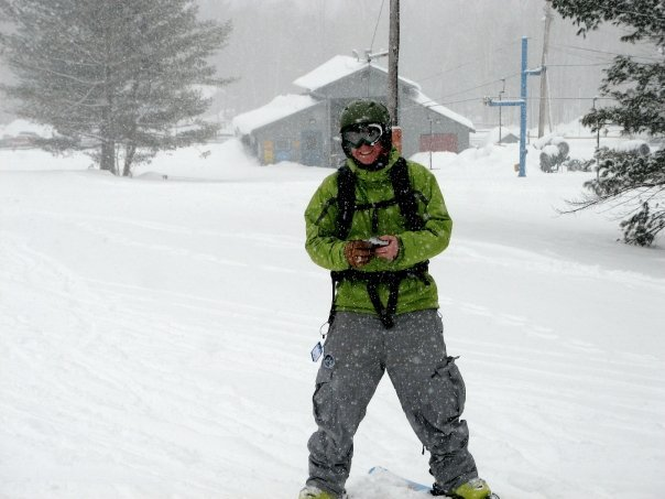 Powder day on the worst moutain