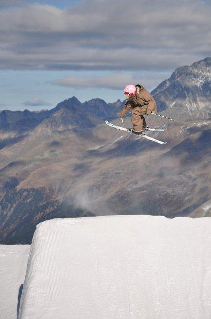 Skiing again!