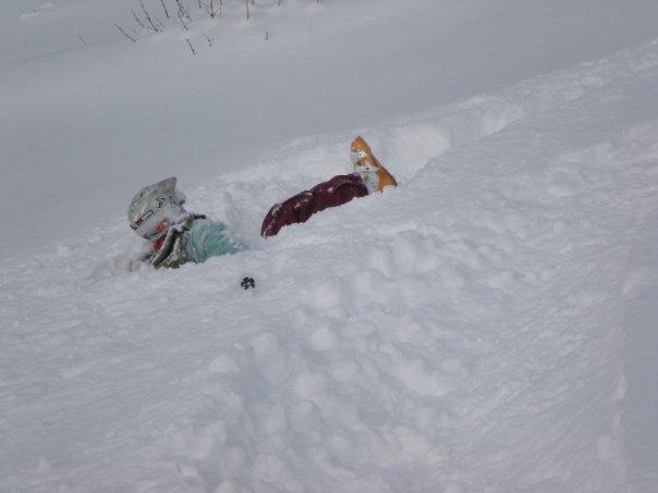 Soo much snow!